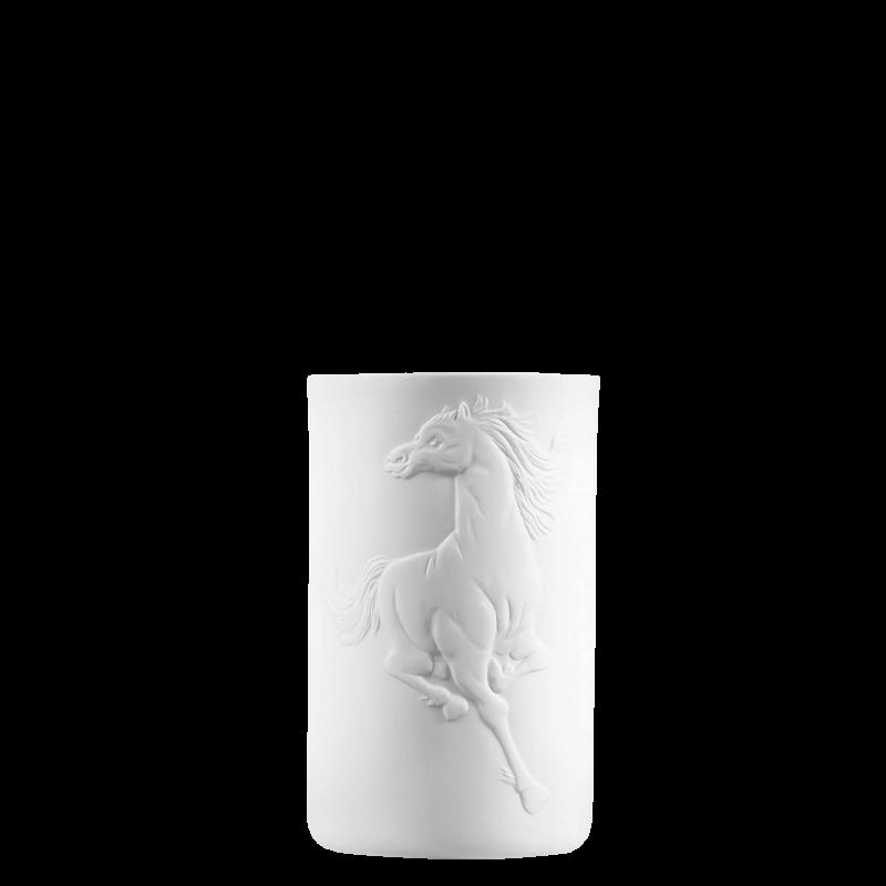 Becher doppelwandig (Relief Pferd)