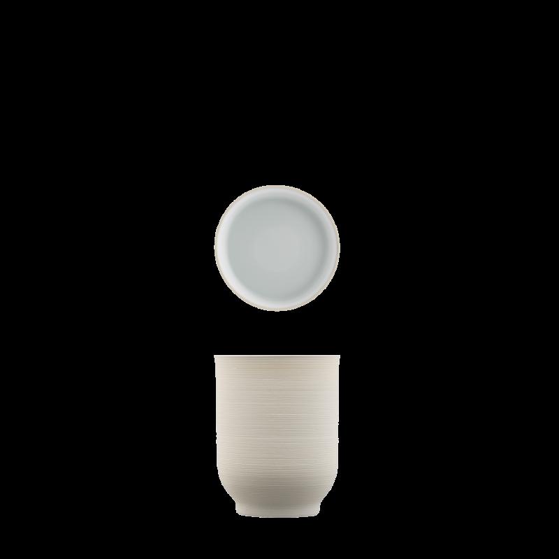 Mug light brown, double-walled