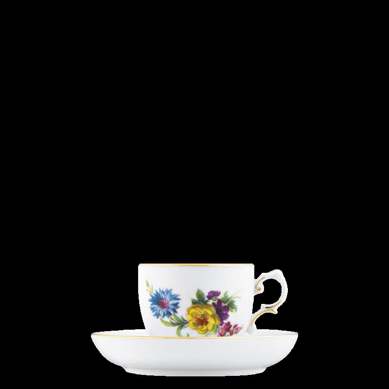 Espresso cup, Saucer
