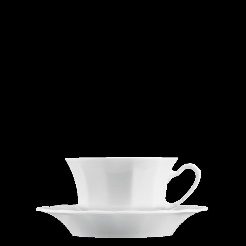 Kaffee-/Teetasse 2-tlg.