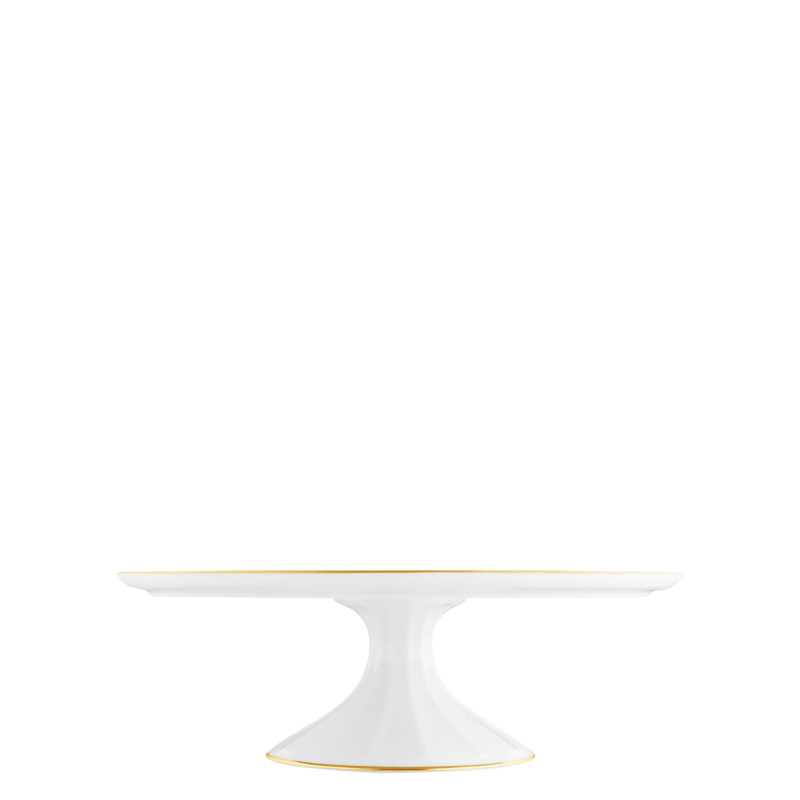 Tortenplatte auf Fuß