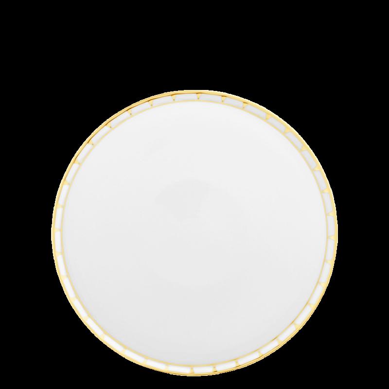 Footed tart platter