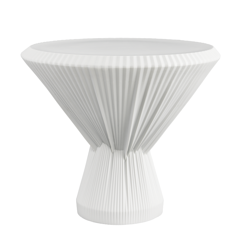 PLISAGO 42 SIDE TABLE WHITE
