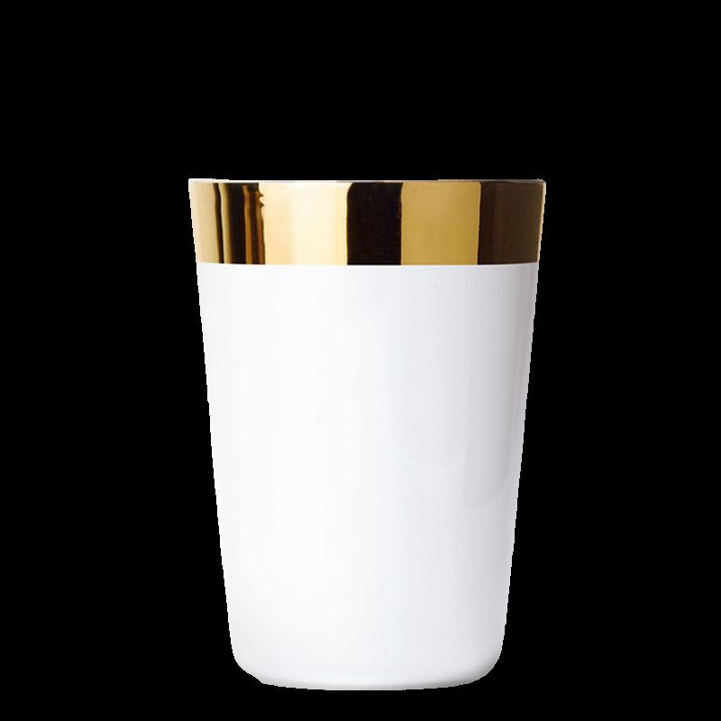 Wasserbecher White, Plain, glatt