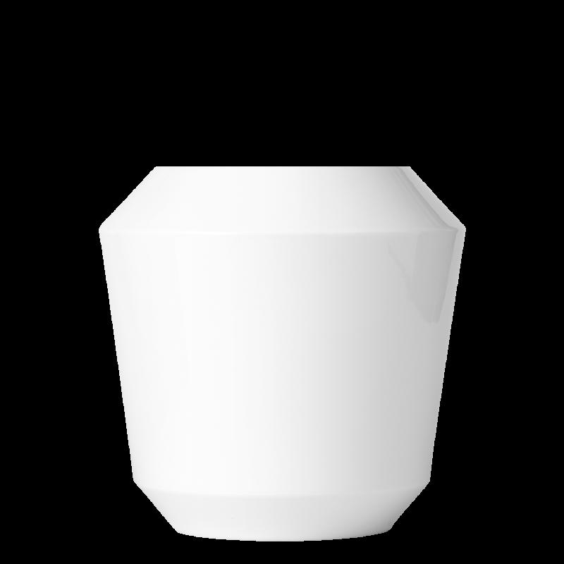 Vase LUNA, white
