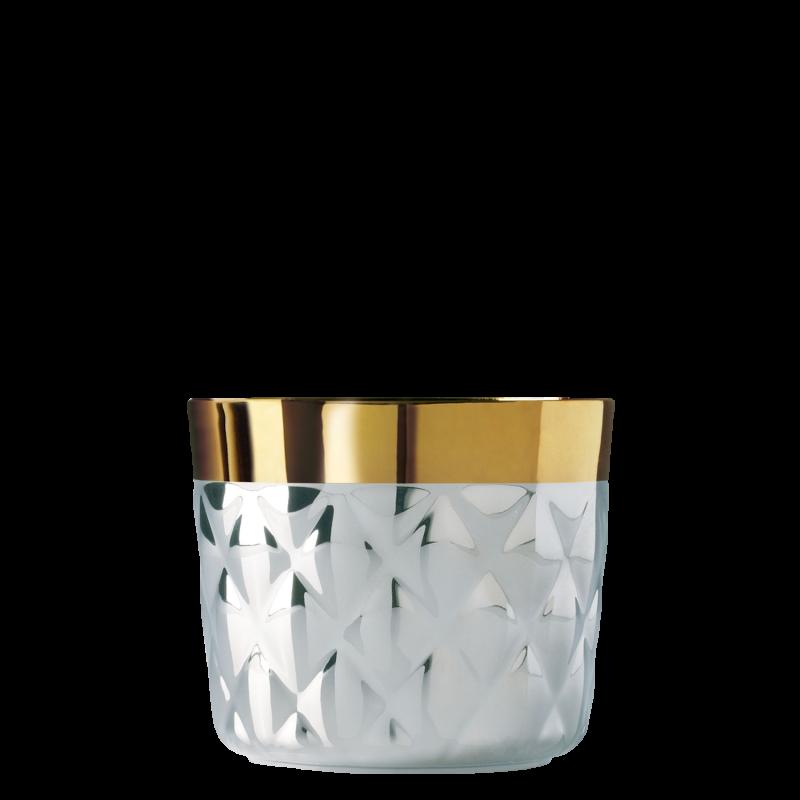 Champagnerbecher Platinum, Cushion, Kissenrelief