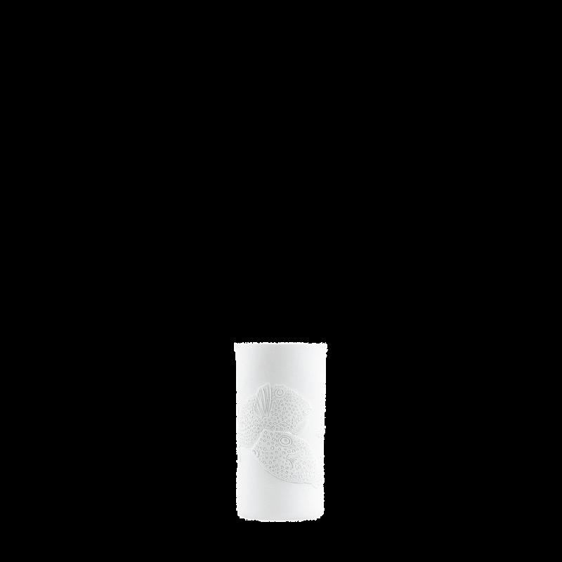 Becher doppelwandig (Relief Kugelfische)