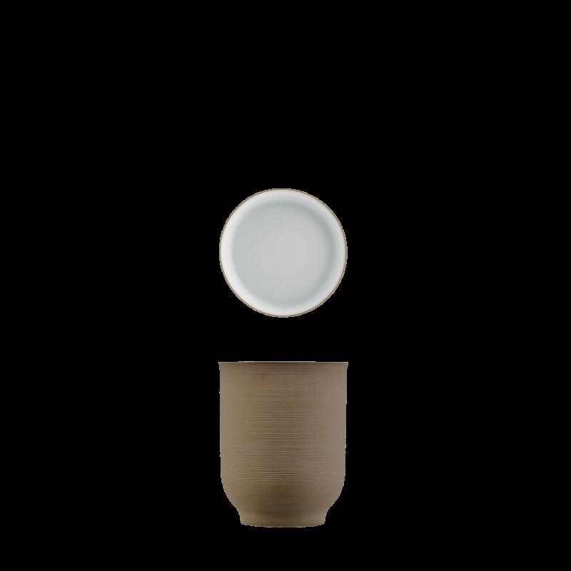 Mug bronze, double-walled
