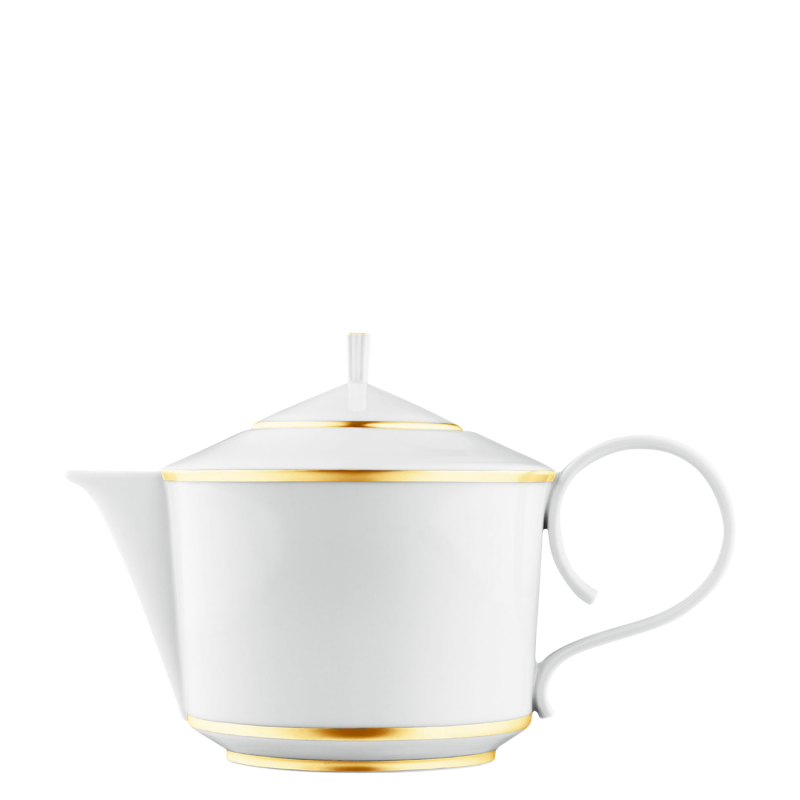 Teapot with tea strainer
