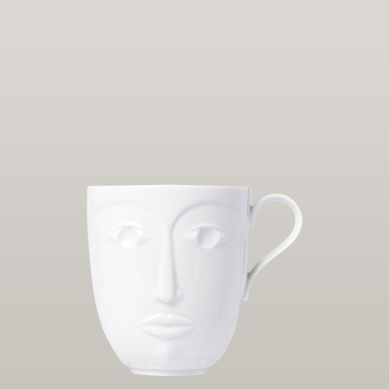 Sieger by Fürstenberg Kaffeetasse Objects to a Muse Hot Weiss