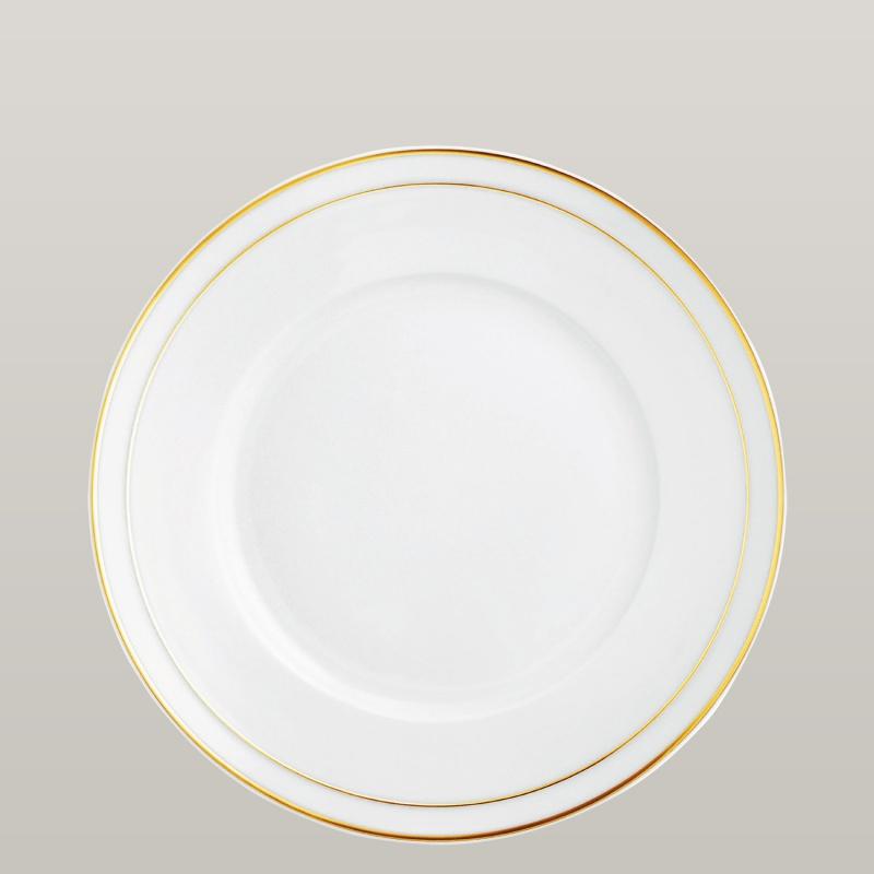 Gourmet plate flat