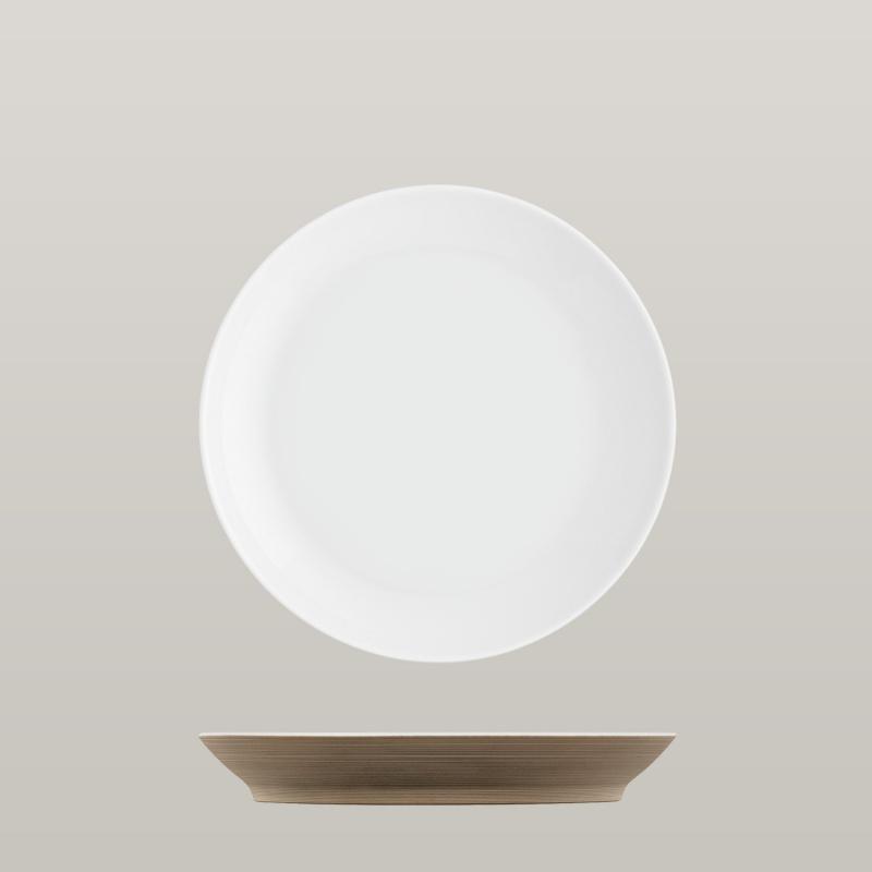 Breakfast plate bronze
