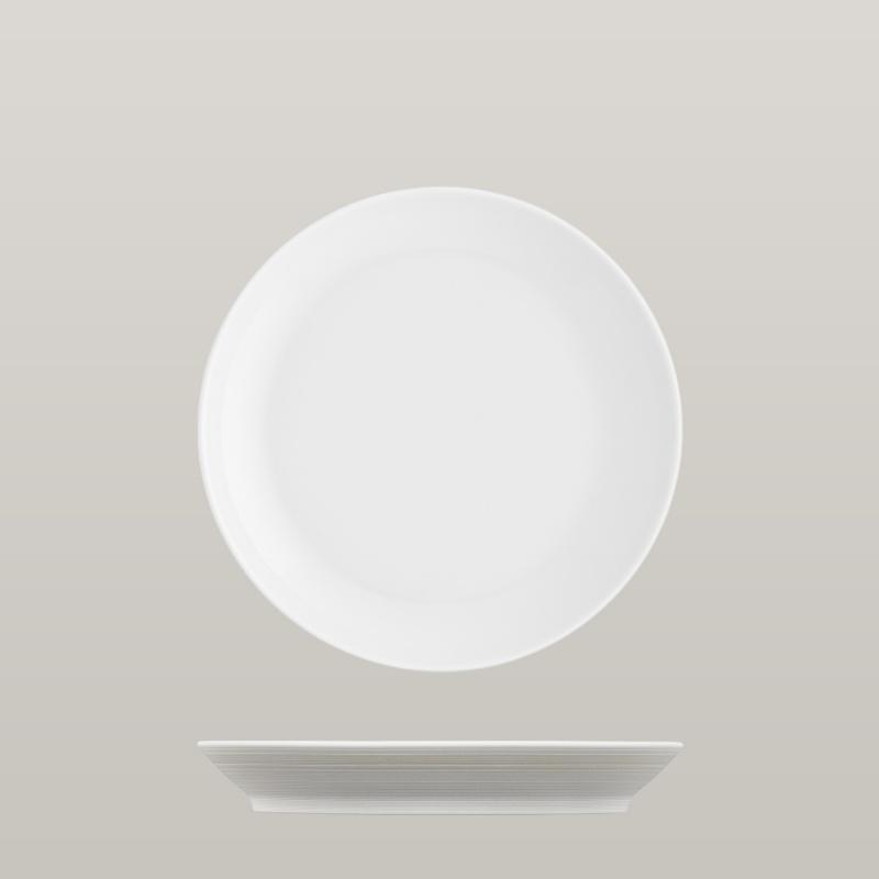 Breakfast plate light brown