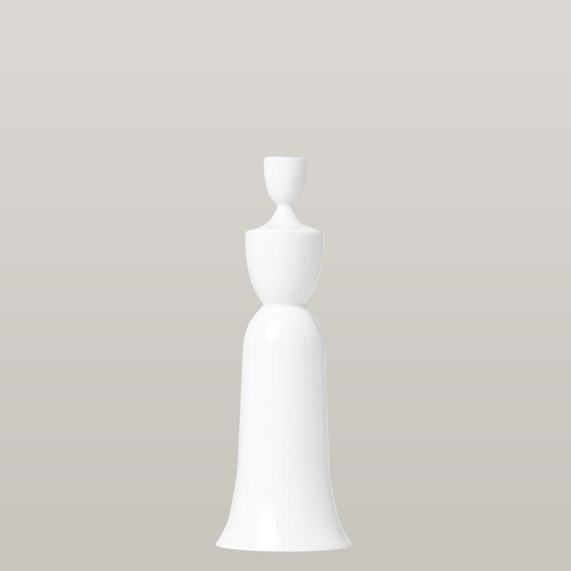 Candleholder JOSEPHINE, white