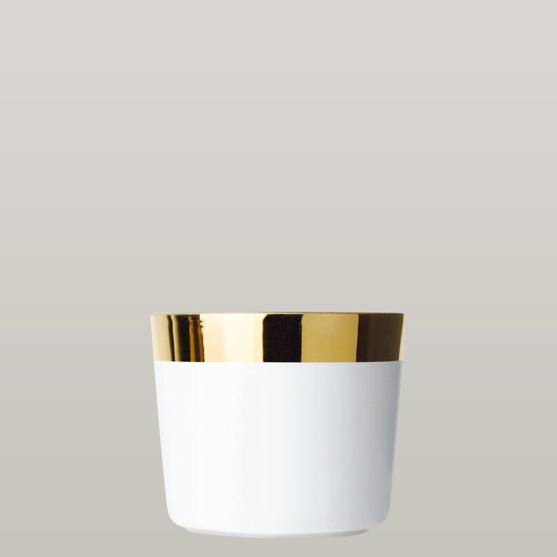 Champagnerbecher White, Plain, glatt