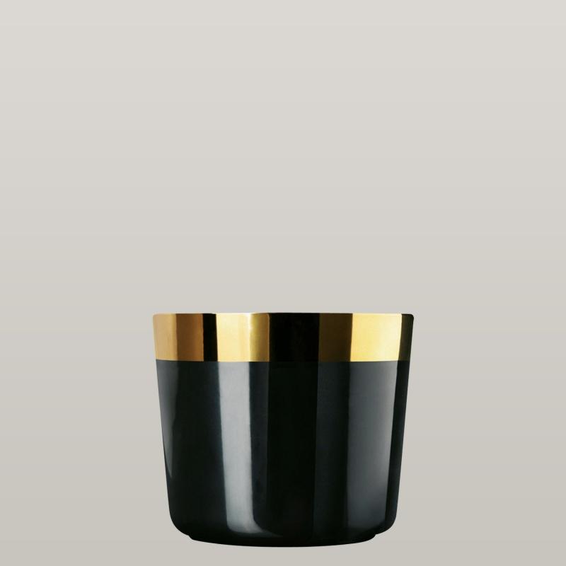 Champagnerbecher Noir, Plain, glatt
