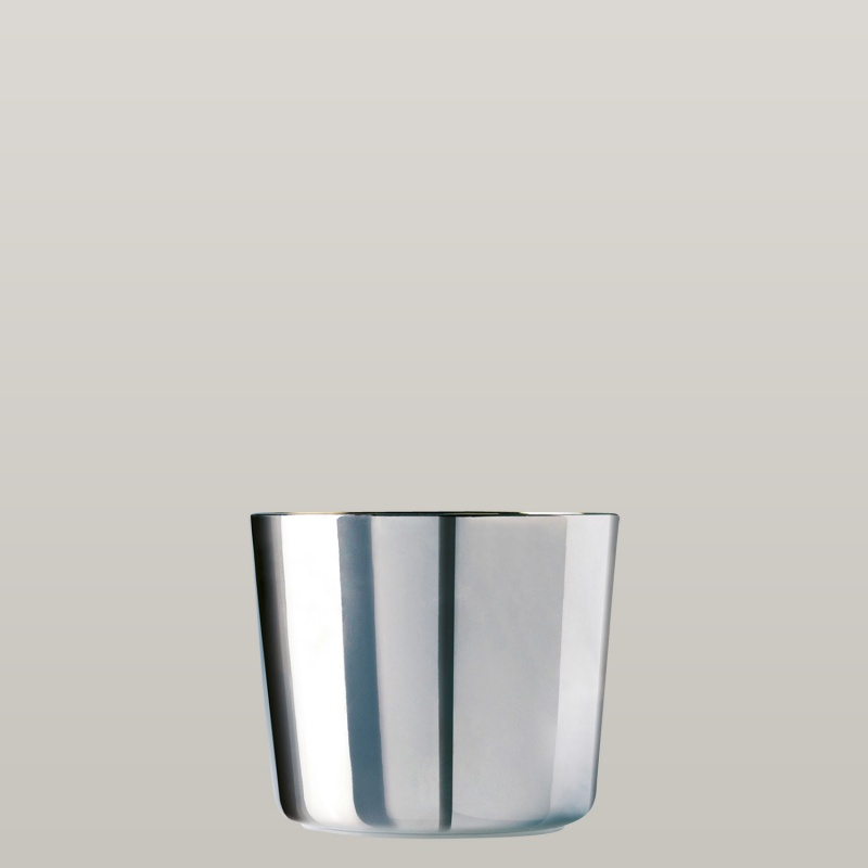 Champagnerbecher Platinum, Plain, glatt