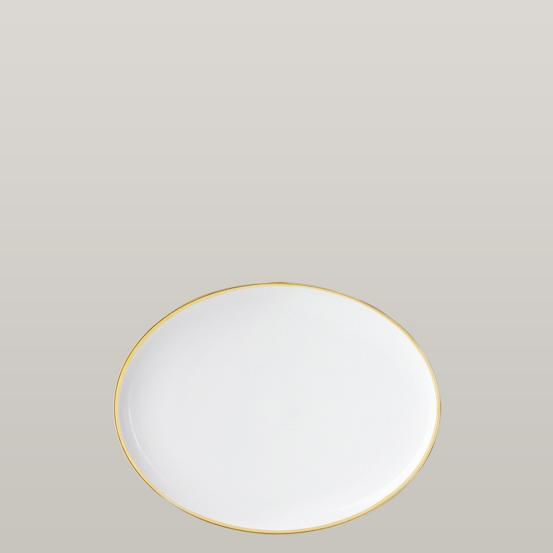 Plate oval, small