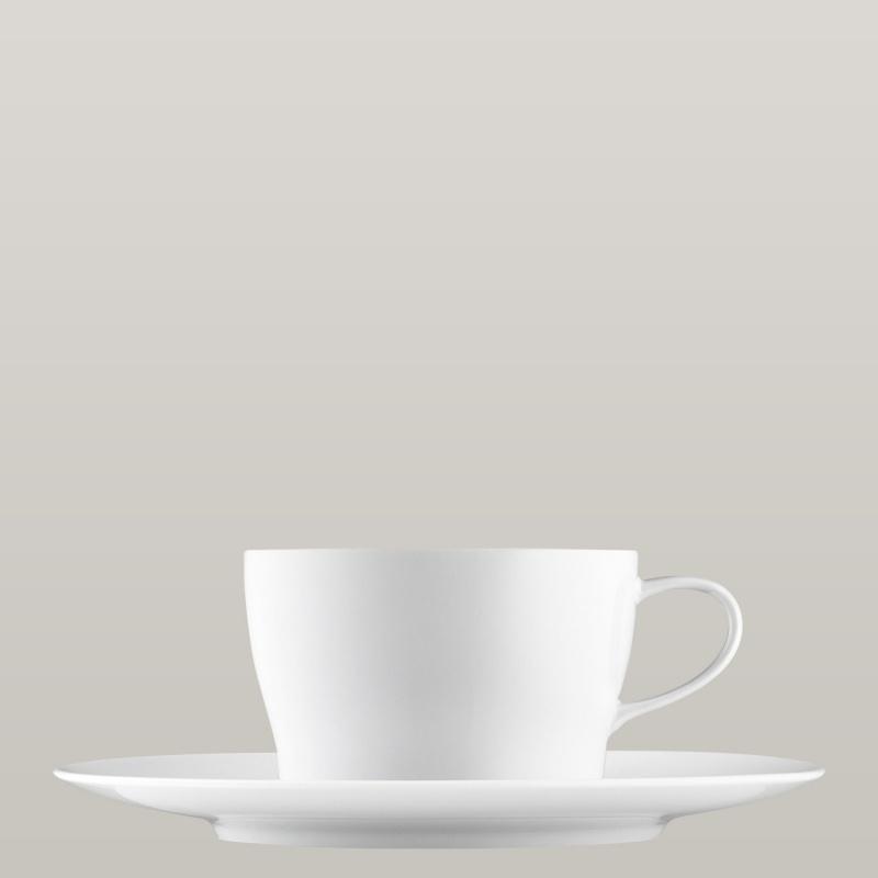 Tea-/cappuccino cup, saucer