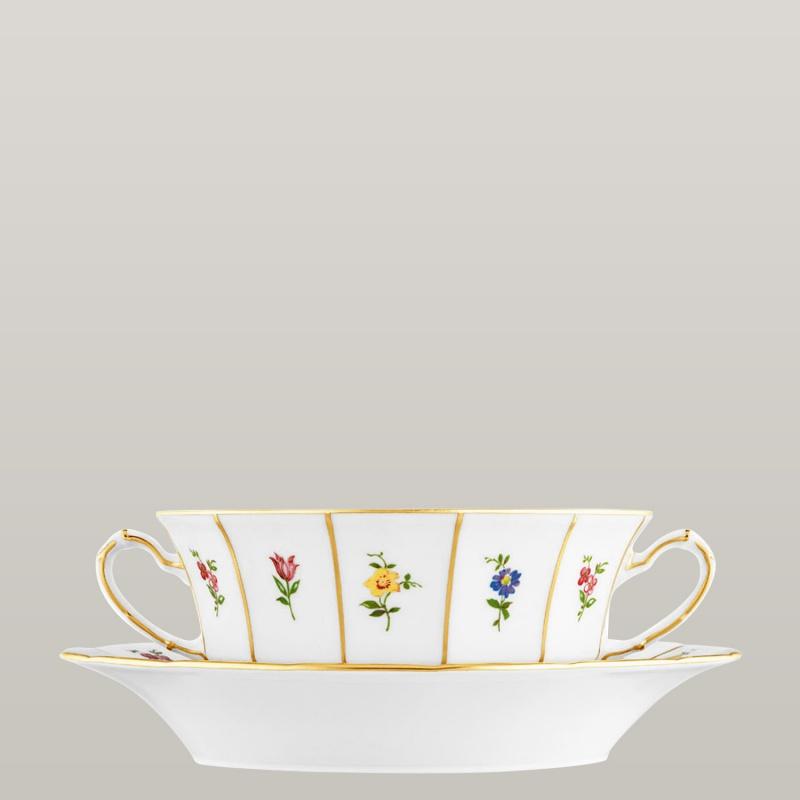 Soup cup, Saucer
