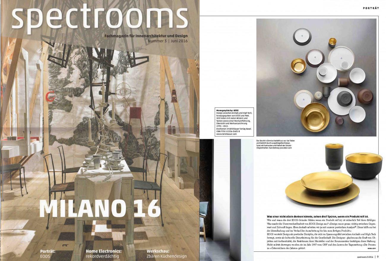 Veröffentlichung im Magazin spectrooms
