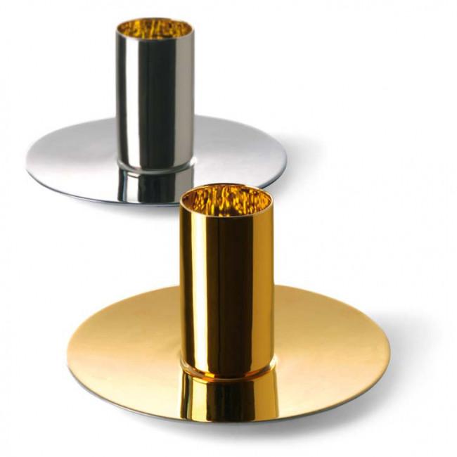 Zwei Espressotassen vollvergoldet und vollplatiniert der Sieger by Fürstenberg Marke, Serienname Black Rush