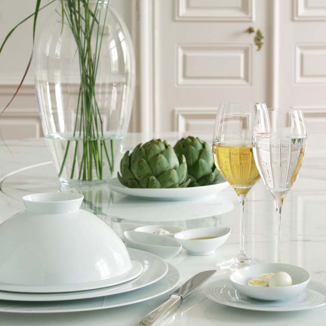 Table setting with My China by Sieger by Fürstenberg