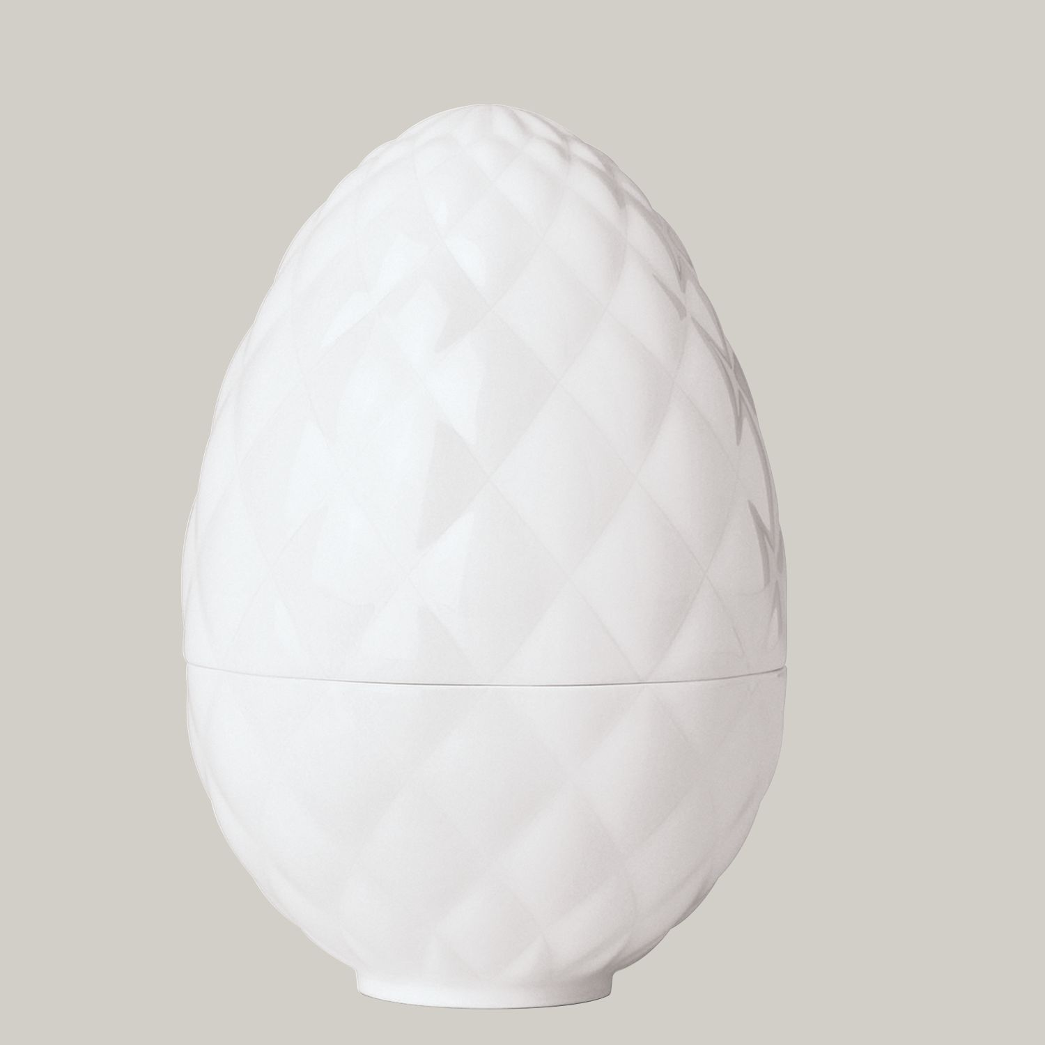 Egg cup diamond embossed