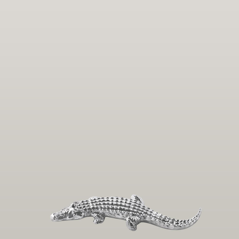 Messerbank Crocodile, platin