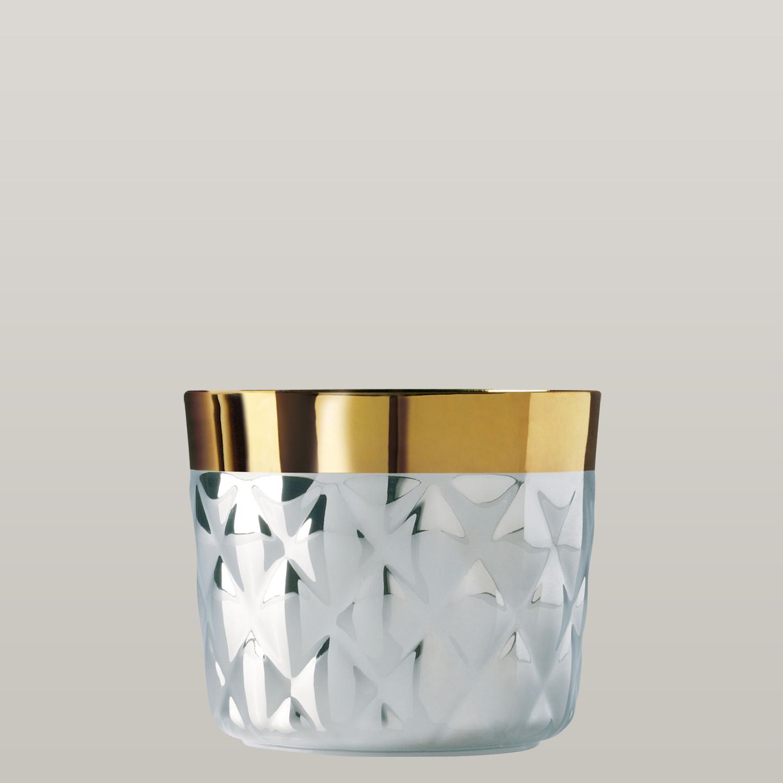 Becher Platinum, Cushion, Kissenrelief