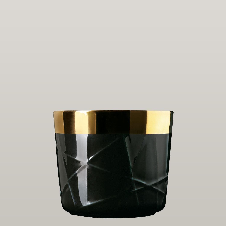 Champagnerbecher Noir, Woven, Stabrelief