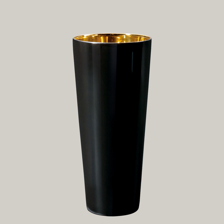 Trinkbecher Noir, Platin, glatt