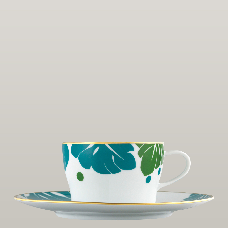 Tee-/Cappuccinotasse 2-tlg.