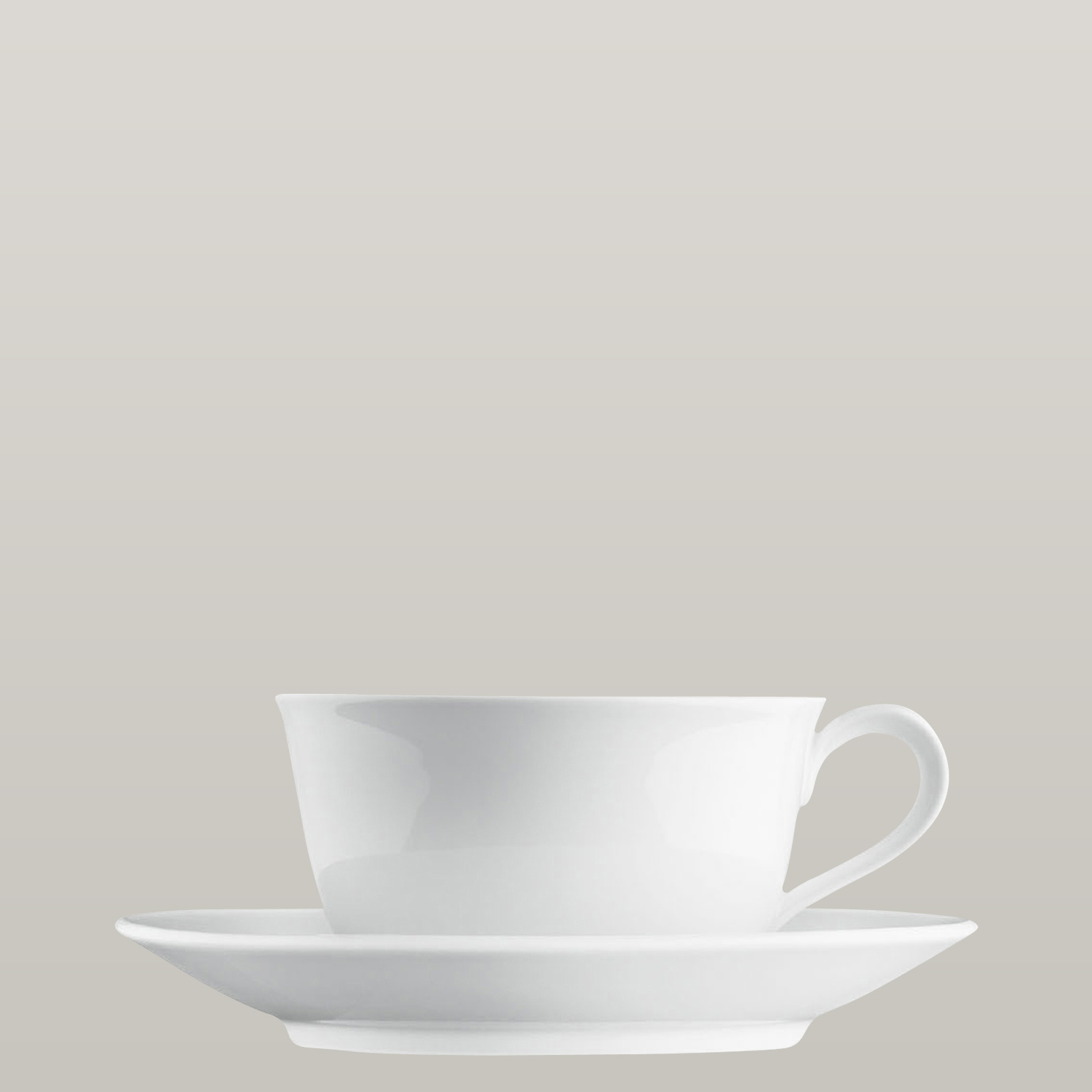Cappuccino cup, Saucer