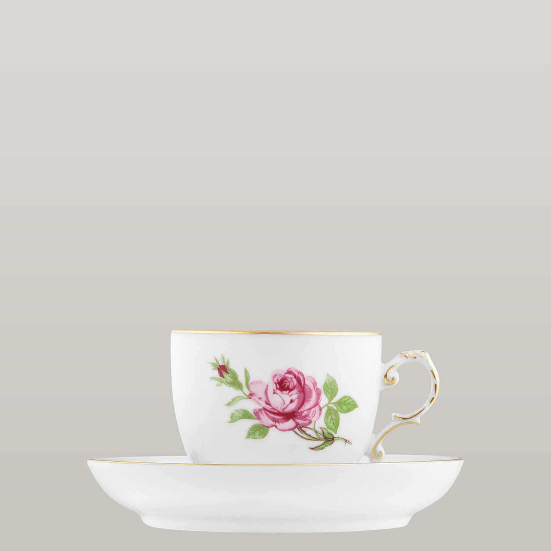 Kaffeetasse 2-tlg. (Untertasse mir Spiegel)