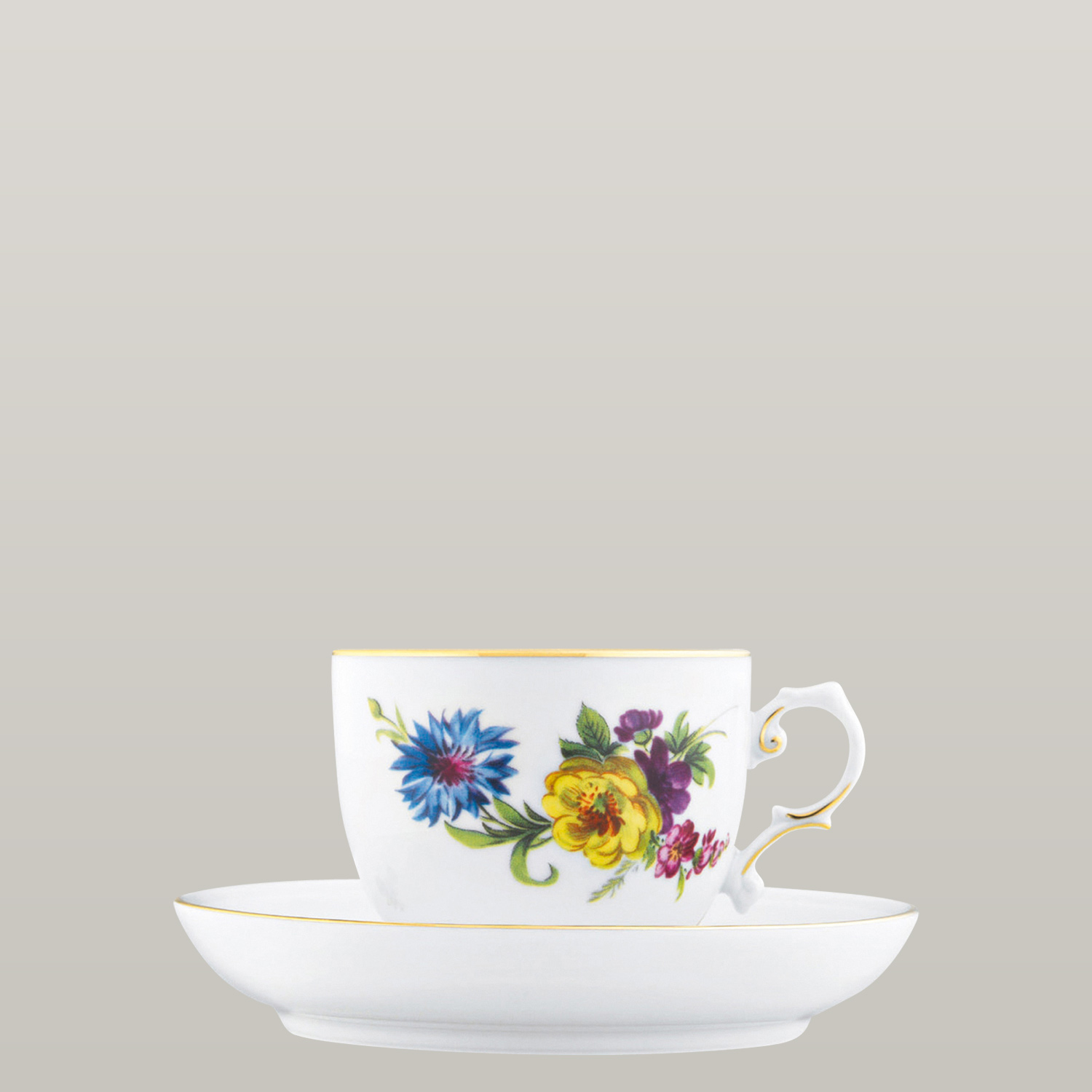 Coffee Cup Saucer With Insert