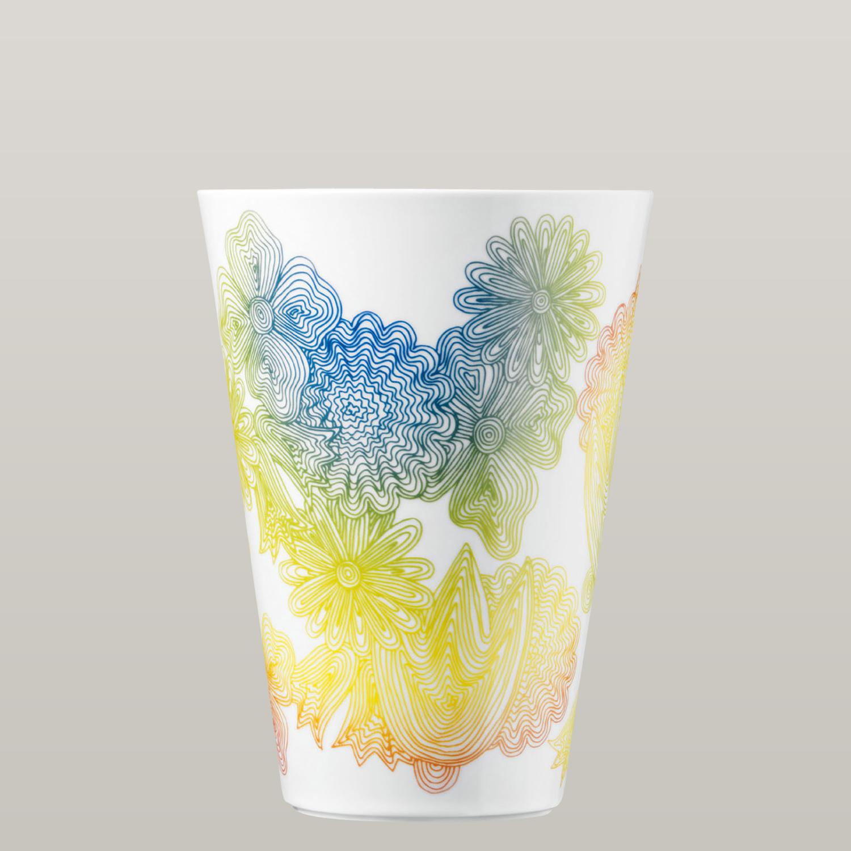 vase les fleurs arc en ciel f rstenberg porzellan. Black Bedroom Furniture Sets. Home Design Ideas