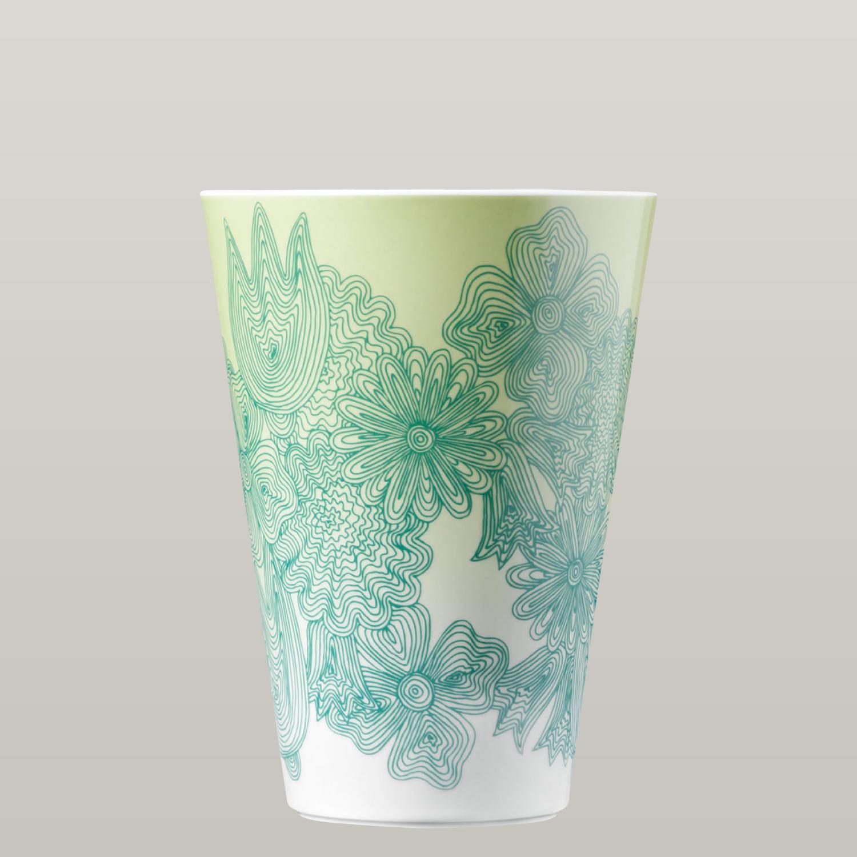 Vase LES FLEURS VERTES