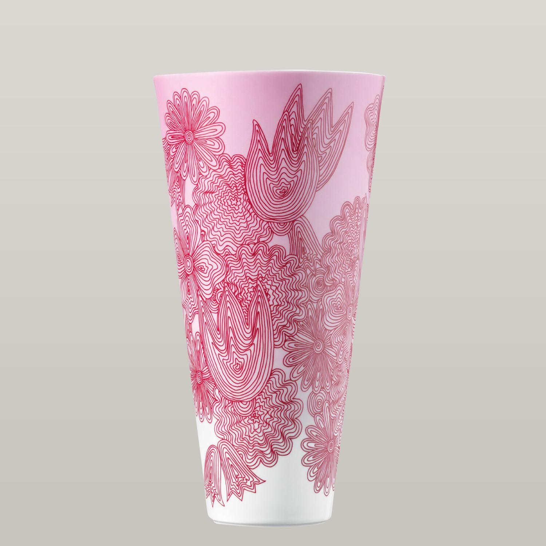vase les fleurs rouges porzellanmanufaktur f rstenberg. Black Bedroom Furniture Sets. Home Design Ideas