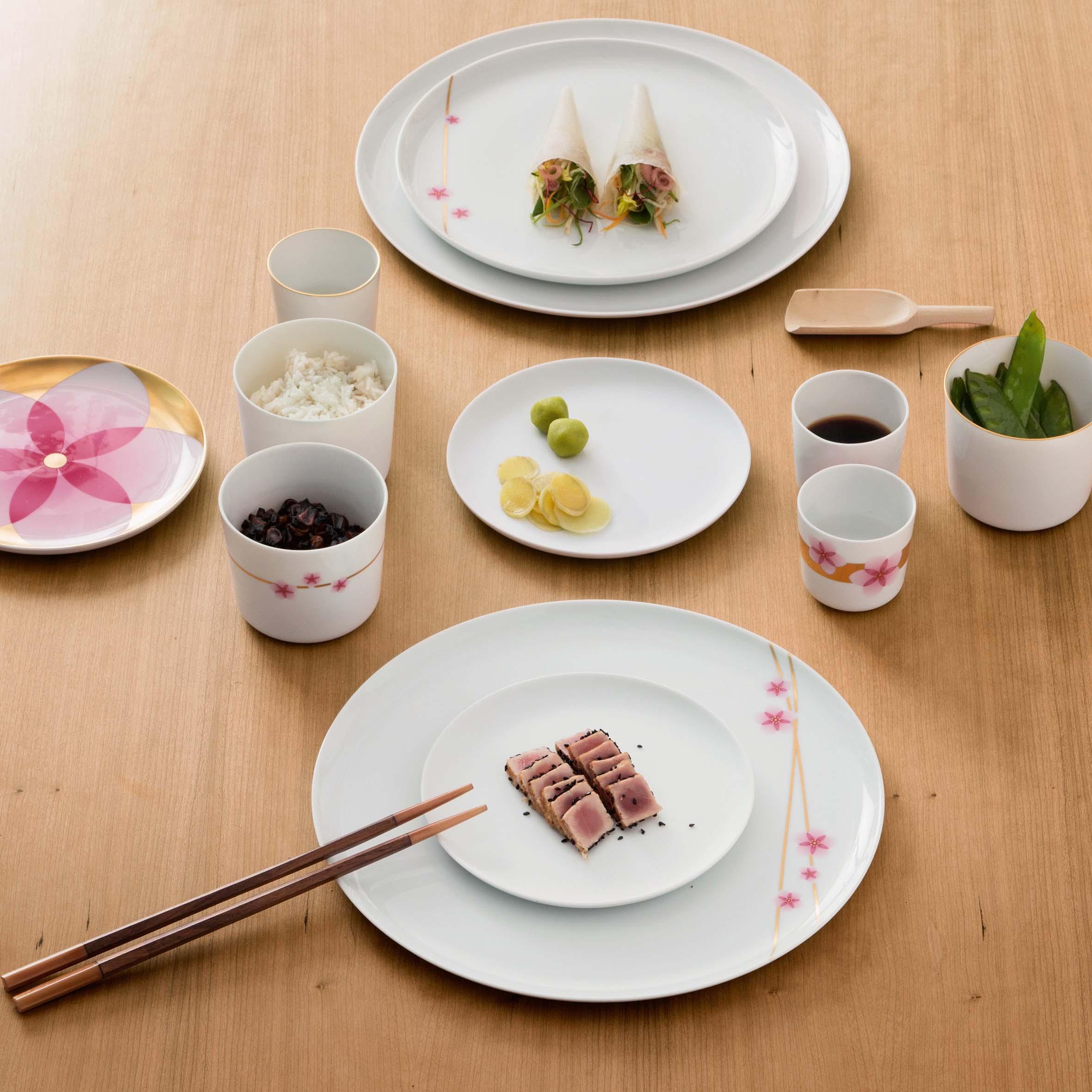 Hanami f rstenberg porzellan for Tisch japanisches design
