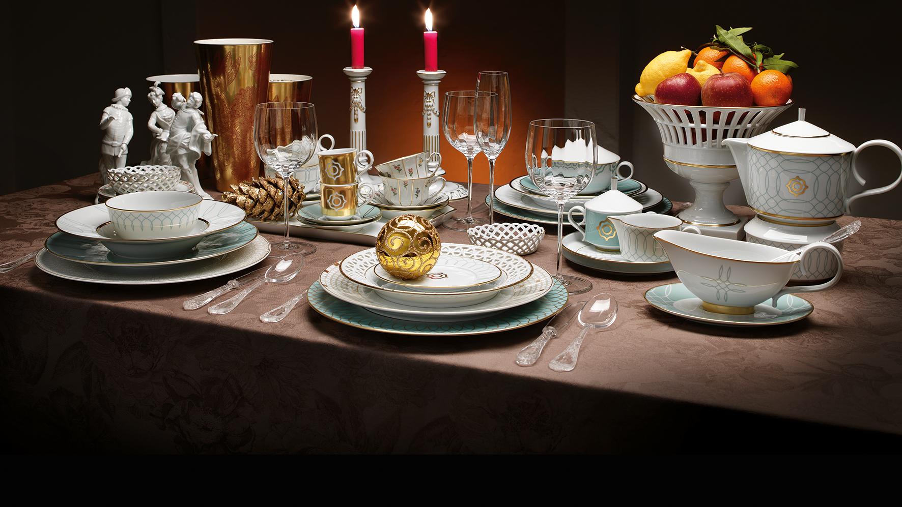 Festive dining with FÜRSTENBERG