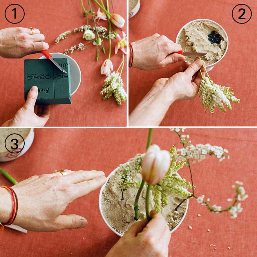 Do it yourself - Floral arrangement
