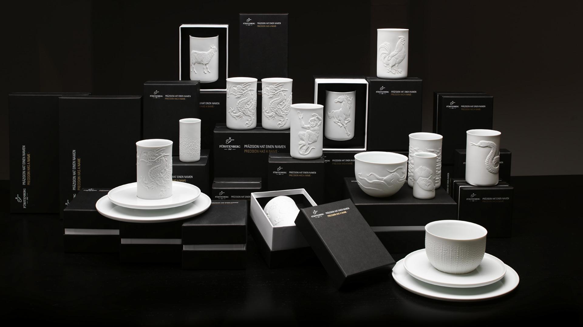 edel porzellan nach ihrem tierkreiszeichen f rstenberg. Black Bedroom Furniture Sets. Home Design Ideas